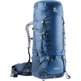 Deuter Aircontact 65 + 10 Mochila, midnight-navy